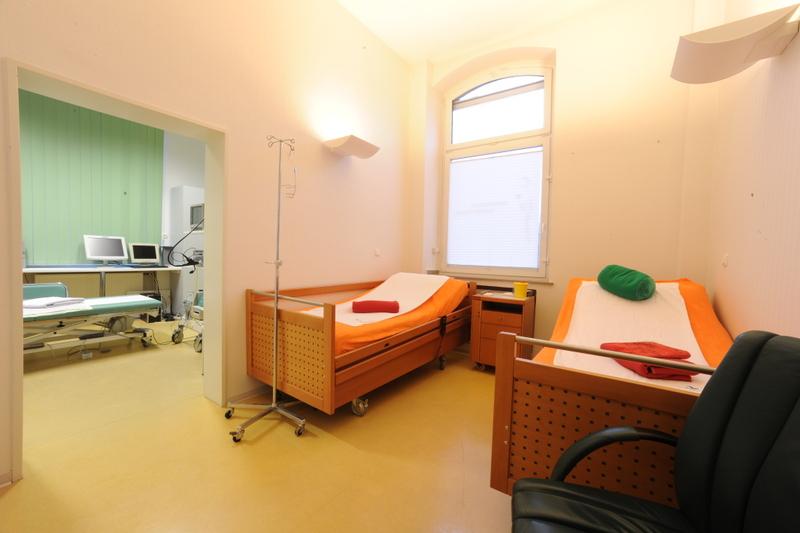 Patientenzimmer Endoskopie